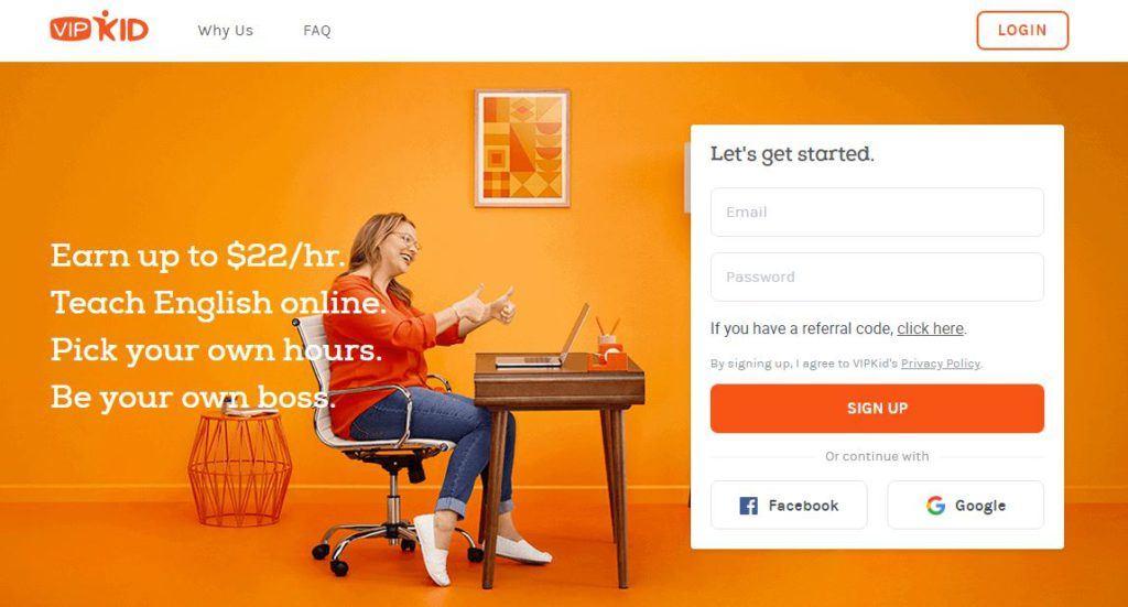 VIPKid Homepage