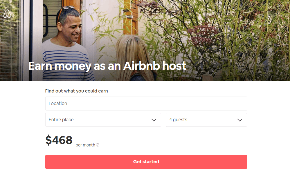 AirBnb Hosting Page
