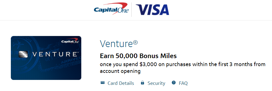 Capitol One Sign Up Bonus Miles