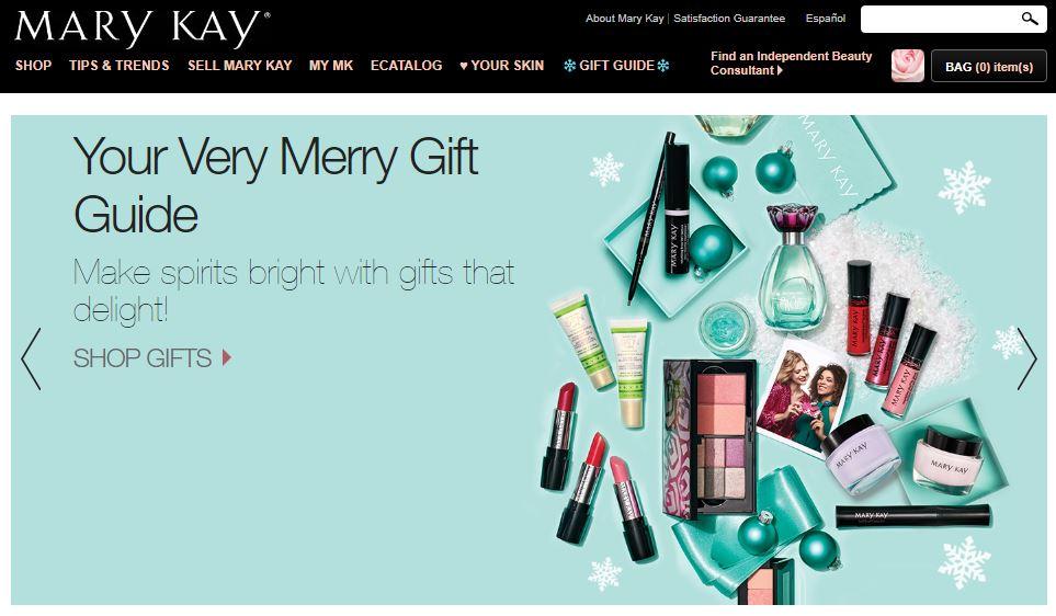 Mary Kay Homepage