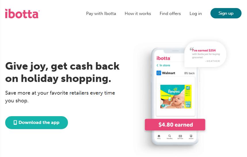 Ibotta Cashback Program
