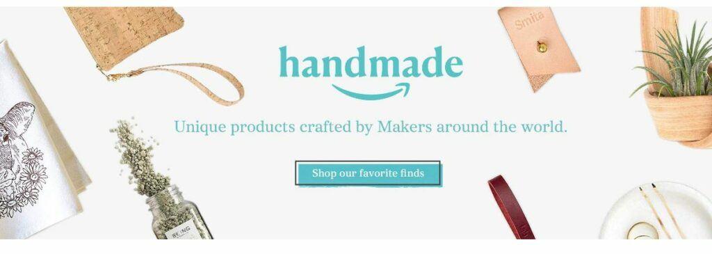 Amazon Handmade Homepage US