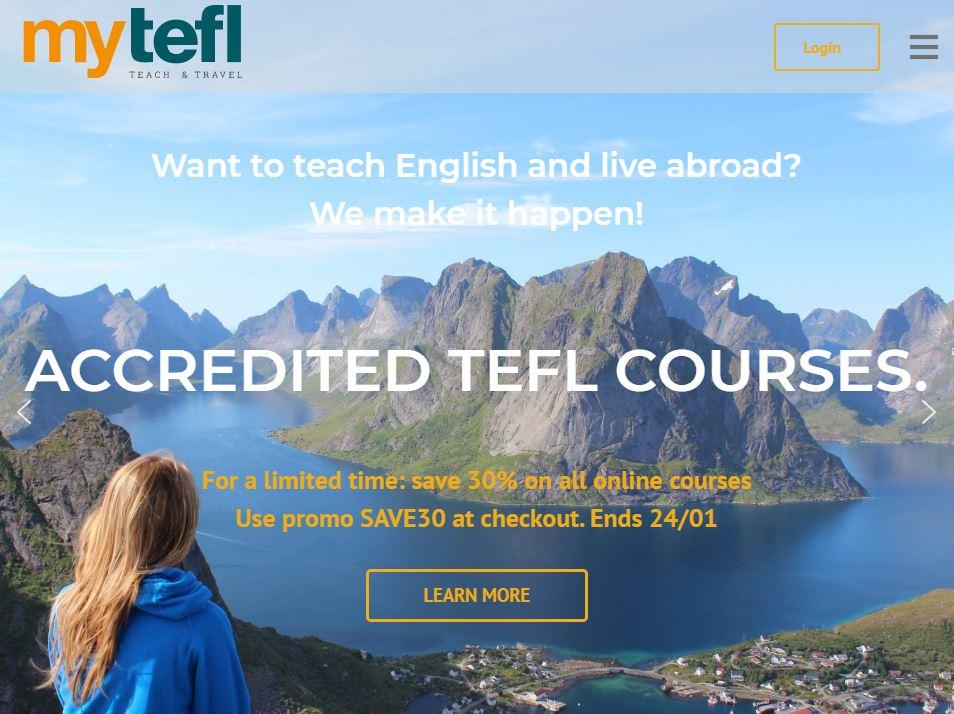 MyTefl Homepage