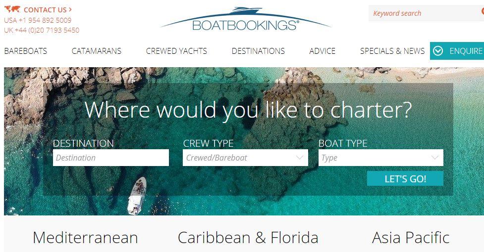 Boatbookings HomePage