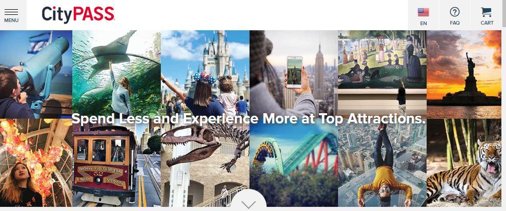 City Pass Homepage