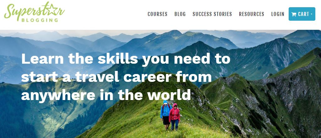 Superstar Blogging Homepage