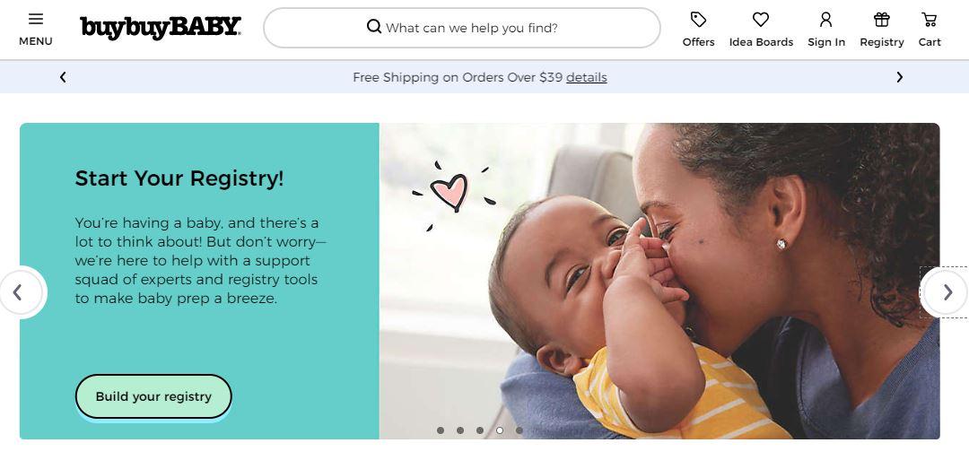 Buy Buy Baby Online Store