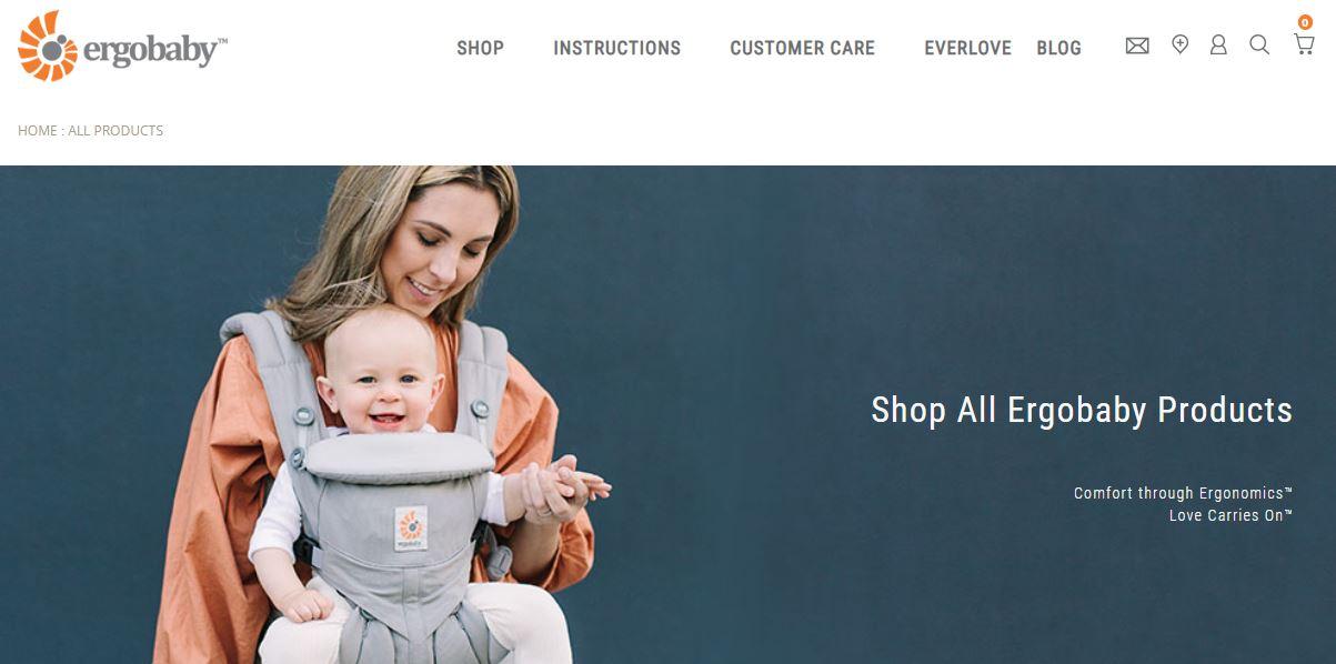 Ergobaby Online Store