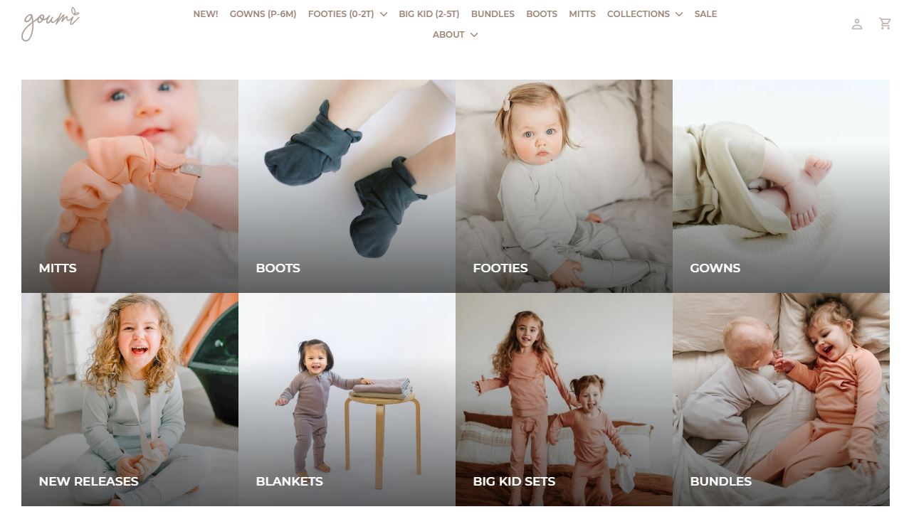 Goumi Kids Online Store