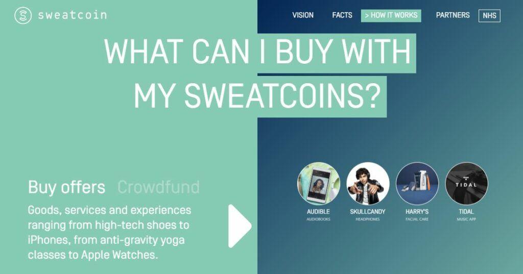 Sweatcoin Rewards