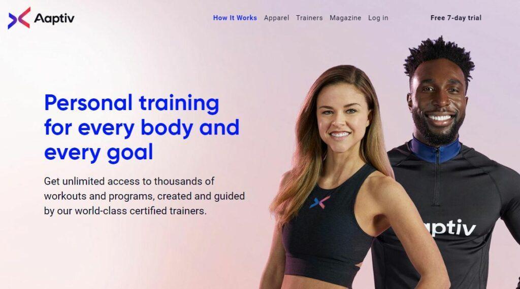 Aaptiv Personal Training App