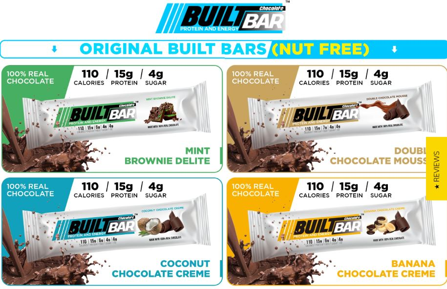 BuiltBar Protein Snacks