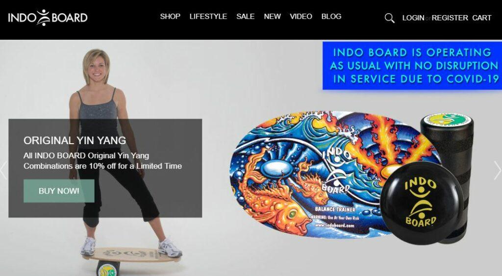 Indoboard Homepage