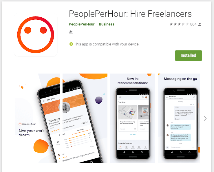 Peopleperhour Mobile App