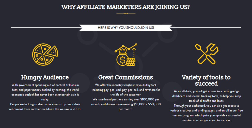 Why Join Regal Assets Affiliate Program