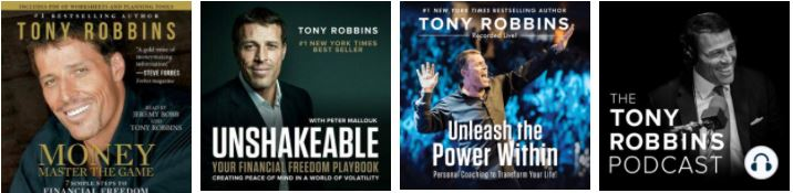 Tony Robbins Audiobooks and Podcast
