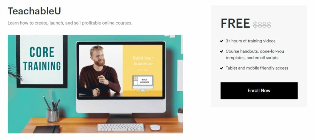 Teachable University Free Course