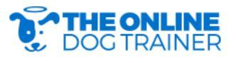 The Online Dog Trainer Logo